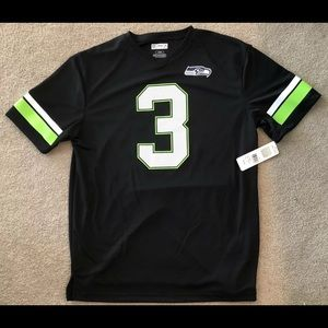 Seattle Seahawks Russell Wilson Shirt Size Large